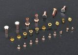 Contato elétrico do metal para o interruptor