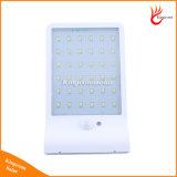 Waterproof 36 LED Solar Garden Wall Light com sensor de movimento