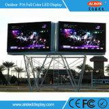 HD P16 옥외 풀 컬러  가로변 광고를 위한 LED 디지털 널