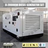225kVA 50Hz 방음 유형 전기 디젤 엔진 생성 고정되는 디젤 엔진 발전기