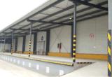 Projeto do armazenamento frio usando-se para a logística