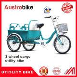 Triciclo Elétrico para Carga com Cesta Grande
