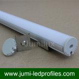 Profilo di alluminio rotondo del LED per le strisce del LED