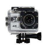 A câmera 4k da ação ostenta a câmera