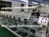 10 pulgadas de la pantalla táctil 8 de Zsk del bordado de precio principal de la máquina
