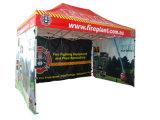 La resistenza alle intemperie 3X3 schiocca in su la tenda che piega la tenda esterna