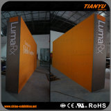cabina promozionale della fiera commerciale del contesto di alluminio del tessuto 3X6