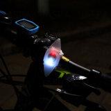 Luz vendedora caliente de la bici de 2LED Silicon + PP