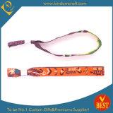 Bande de poignet bon marché promotionnelle faite sur commande de tissu de Chine