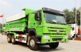 Camion lourd de camions à benne basculante de roue de HOWO 6X4 10