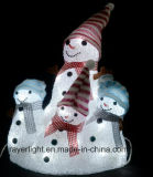 크리스마스 훈장을%s 자주색 LED 화환 빛