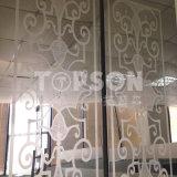 placa 201 304 316 de aço inoxidável decorativa com revestimento 8k gravado espelho