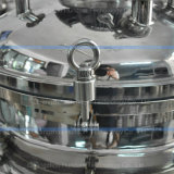 Réservoir de mélange liquide d'agitateur inférieur pharmaceutique d'acier inoxydable