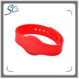 ISO14443A Hf FM1108 pulsera de silicona RFID para la piscina