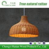 Decken-Lampen-hängendes Licht mit Rattan-Lampenschirm