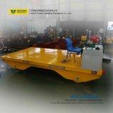 Trole liso motorizado 25 toneladas do transporte do trilho na fábrica