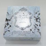 Caja de embalaje del papel cosmético delicado del color, sellado caliente, grabando