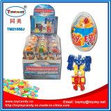 Stuk speelgoed van het Ei van het Ei van de verrassing het Grote Plastic met Suikergoed