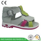 優美の健康は3つのカラー子供の整形治療用靴に蹄鉄を打つ