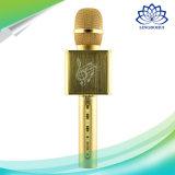 Im Freien Minigröße Bluetooth Karaok Mikrofon-Lautsprecher