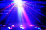 Het LEIDENE van de Prijs 6*1W 4in1 RGBW van de fabriek Licht van de Laser met Ce RoHS