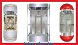 Elevatore facente un giro turistico dell'elevatore dell'automobile prezzi di vetro della decorazione di buoni