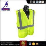 Maglia riflettente di sicurezza della maglia di Alto-Visibilità con il sacchetto