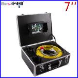 """23mmの7 """"デジタルLCDスクリーンおよび20mから100mのガラス繊維ケーブルが付いているビデオ管の点検カメラCr110-7D1を防水しなさい"""