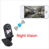 Mini came do vídeo da visão noturna do baby-sitter da segurança da câmera do IP de WiFi da rede wireless do Portable Q7