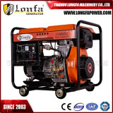 tipo aperto generatore diesel 5500W del Portable 5.5kw con Ios9001