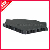 1U 144F 19 pouces LC Duplex Angled Patch Wall Panel