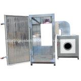 Elektrostatischer gasbetriebener Puder-Mantel, der Ofen aushärtet