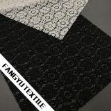 Tessuto pesante del merletto del merletto del cotone del fiore per gli accessori dell'indumento