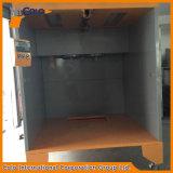 Cabina de aerosol industrial manual móvil fácil de polvo