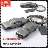 Carro de metal feito sob encomenda barato Keychain Shaped