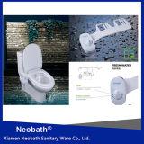 Het Chinese Zelfreinigende ABS NMB1000 Bidet van het Toilet voor Enige Pijp