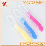 カスタム高品質のシリコーンのスプーンの頑丈で適用範囲が広いシリコーンの赤ん坊のスプーン