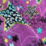 Panno morbido polare di stampa della stella con 1 Antipilling laterale