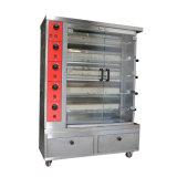 Машина жареного цыпленка Rotisserie газа для машины оборудования цыпленка хлебопекарни трактира