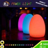 Impermeable Float LED Egg Glow Illuminated LED huevo para la Pascua