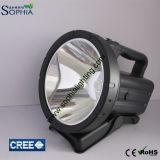 Nuevo proyector recargable de 30W LED, litio el 1500m de la luz 7.4V 4400mAh de la búsqueda del LED