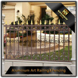2017 de nieuwe Prijzen van de Comités van de Omheining van de Tuin van het Metaal van het Aluminium met Goede Kwaliteit