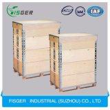 輸送のための厚い実質の木製の物質的な縁材ボックス