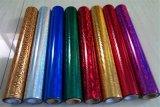 Película quente da folha de carimbo das cores para o papel/couro/matéria têxtil/telas/plásticos