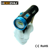 Torcia di lumen LED delle attrezzature per l'immersione 2600 con un indicatore luminoso di cinque colori per il video di immersione subacquea