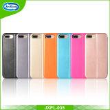 Het slanke Uiterst dunne Kleurrijke 360 TPU Pu Geval van de Telefoon van het Leer Mobiele voor iPhone 5 5s Se 6 de Groef Kickstand van 7 Kaart