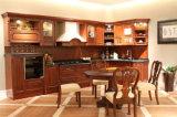Gabinetes de cozinha luxuosos de madeira do amieiro antigo de Grandshine