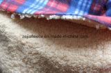 Shu Velveteenおよびプリント羊毛によってなされる結合されたファブリック