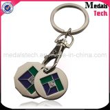 Smalto molle Keychain del metallo su ordinazione poco costoso di modo di alta qualità