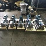 Санитарный насос ротора лепестка нержавеющей стали с редуктором шестерни
